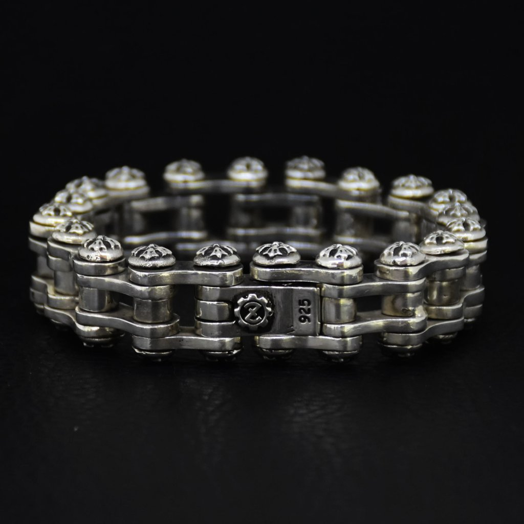 Cross Biker Chain Braceletの画像