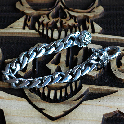 Classic Chain SkullClip Braceletの画像